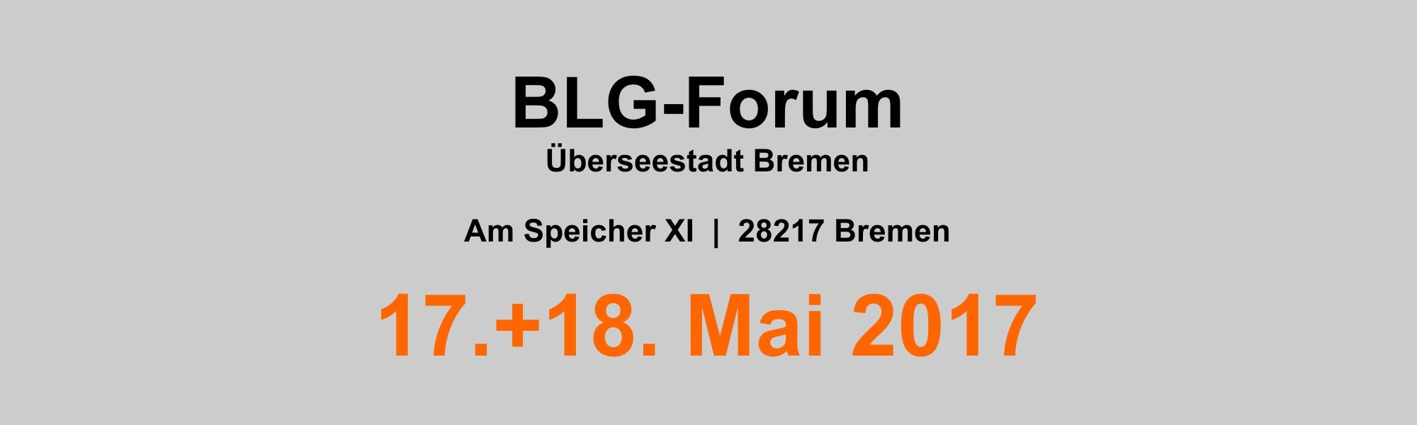 Banner - BLG-Forum 2000x600